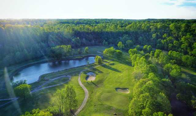 Aerial view from Nashville National Golf Links