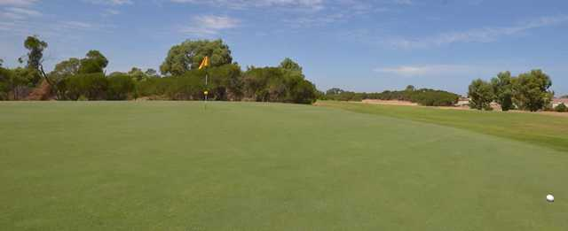 View from a green at Rockingham Golf Club