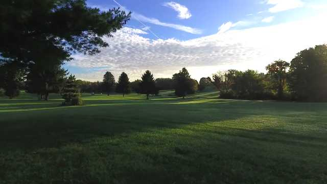 A view from The South 9 at Sunny Hill Golf & Recreation