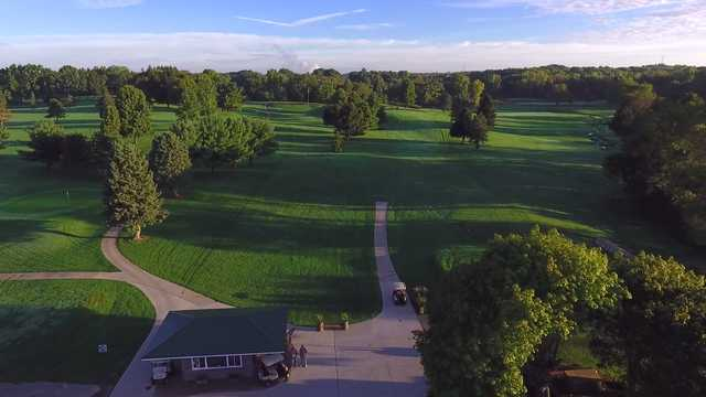 A view from The North 9 at Sunny Hill Golf & Recreation