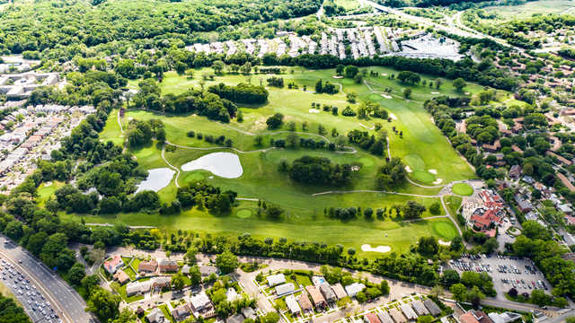 Douglaston GC: Aerial View