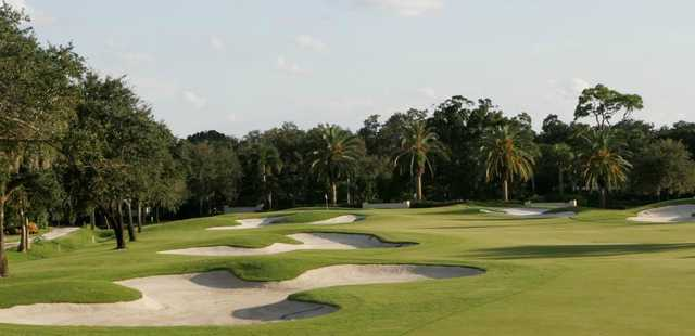 A view of hole #14 at Vero Beach Country Club.