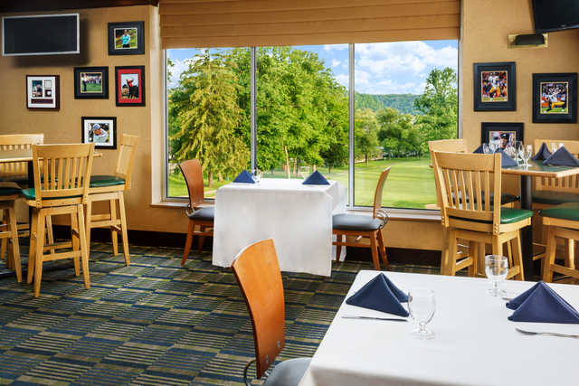 View from the restaurant at Lakeview Golf Resort & Spa