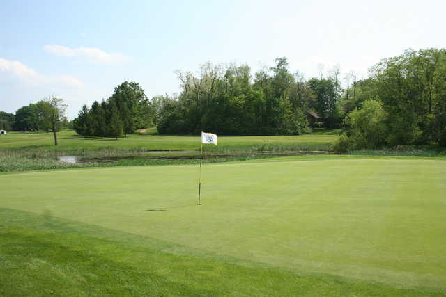 View from a green at Honey Run Golf Club