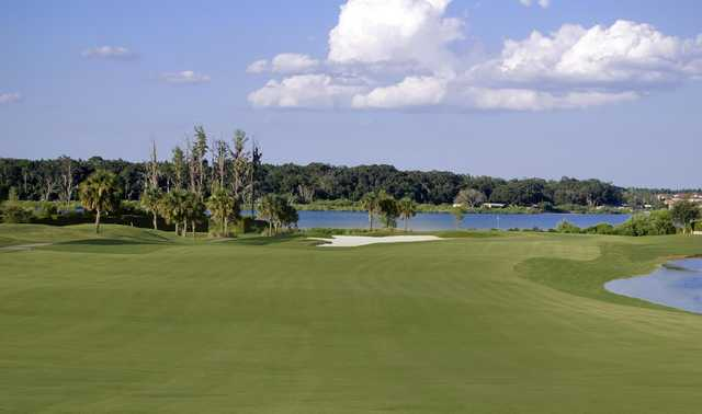A view from a fairway at Stoneybrook West Golf Course.