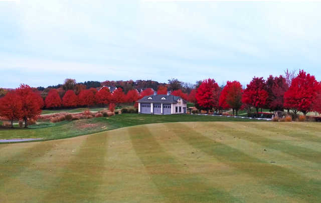 A fall day view from Cattail Creek Country Club.