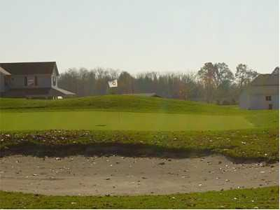 A view of the 5th hole at Spring Hills Golf Course