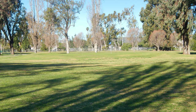 A view of the 6th hole at Saticoy Regional Golf Course.
