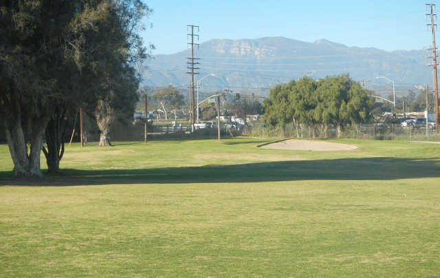 A view of hole #1 at Saticoy Regional Golf Course.