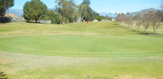 A view of green #3 at Saticoy Regional Golf Course.