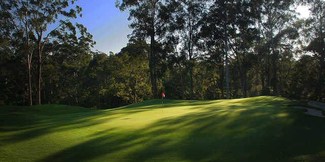View of the 5th hole from Pennant Hills Golf Club