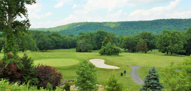 A view of a green at Water Gap Country Club.