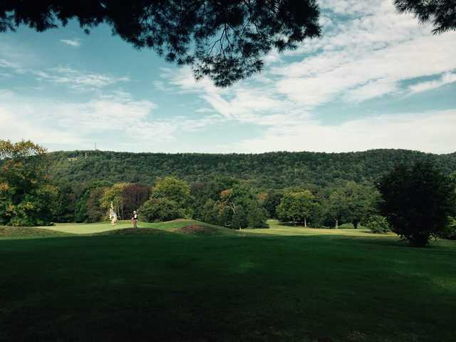 A view of a hole at Water Gap Country Club.