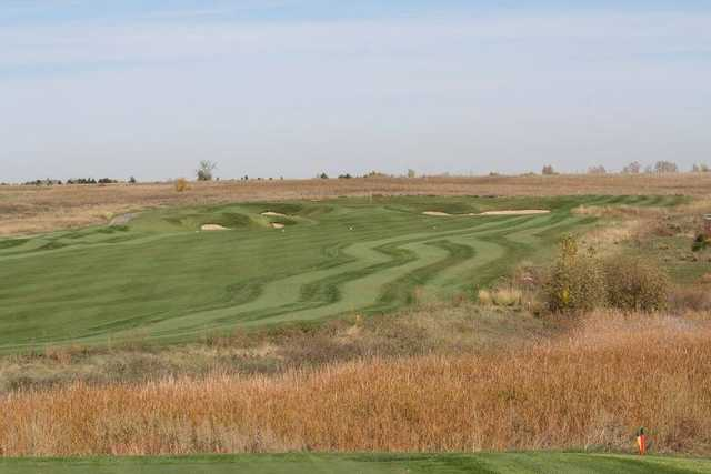 A view of fairway #4 at Todd Creek Golf Club.