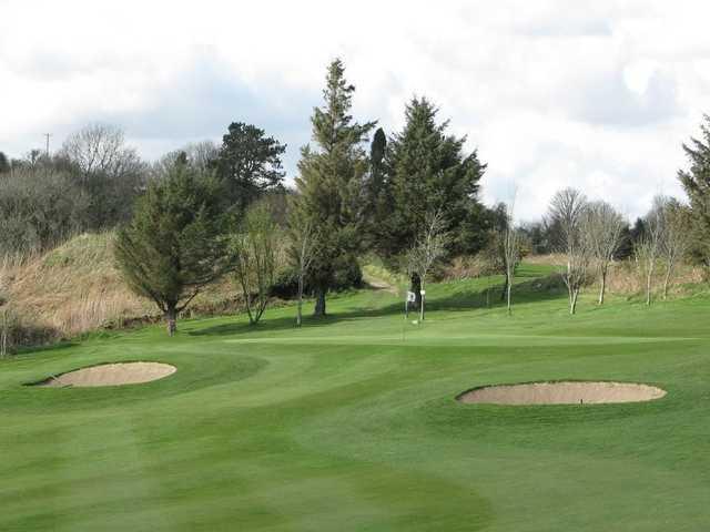 A view of green #10 at Pontardawe Golf Club.