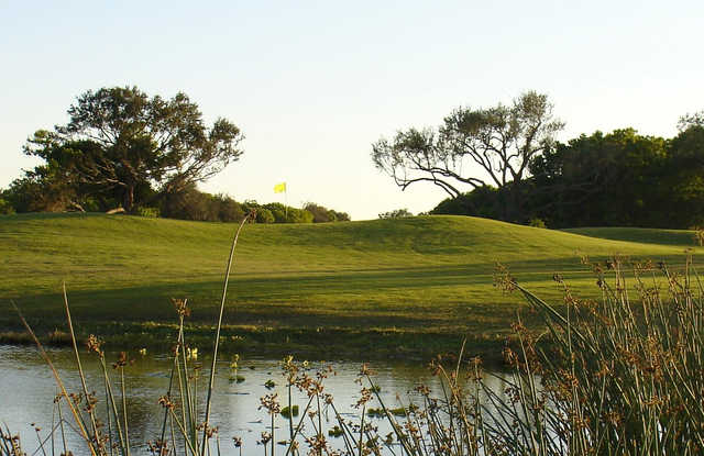 A view of the 14th hole at Coral Oaks Golf Course.