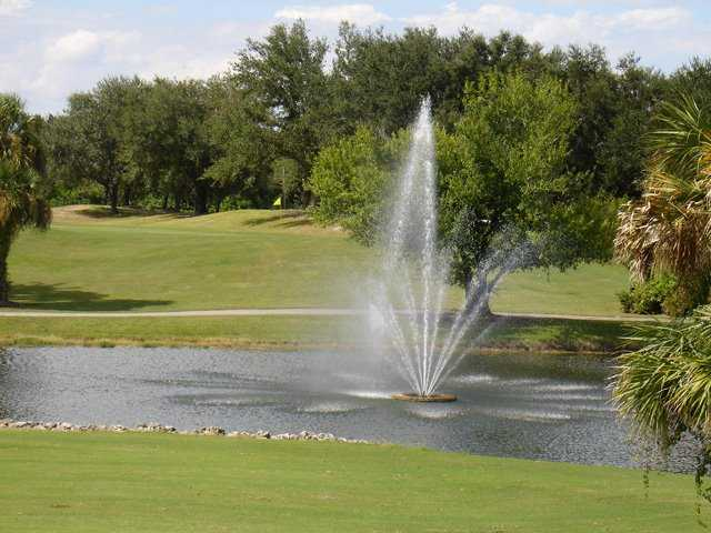 A view of hole #9 at Coral Oaks Golf Course.