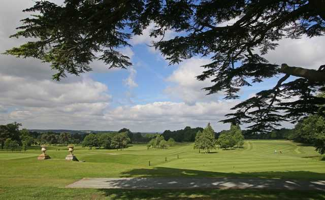 A view from Brookmans Park Golf Club