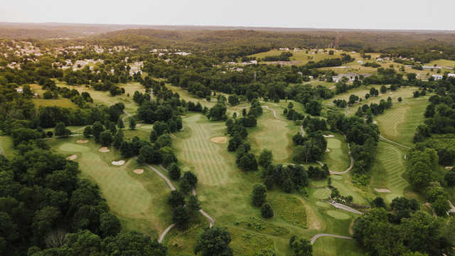 Aerial view from EagleSticks Golf Club