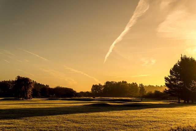 A view from Swaffham Golf Club