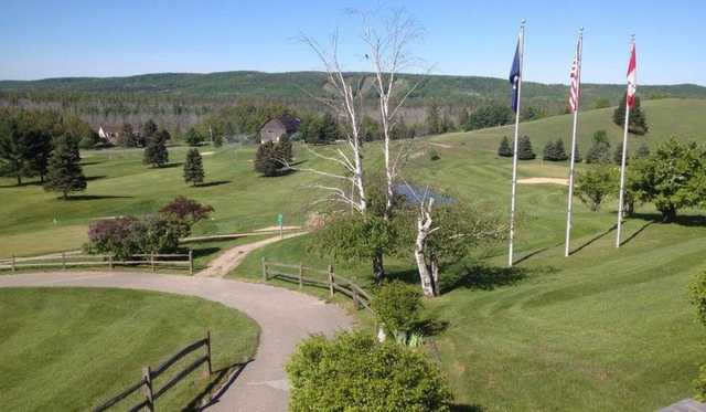A view from Springbrook Golf Club