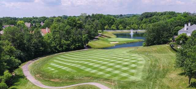 A view of the 16th green at Wetherington Golf & Country Club.