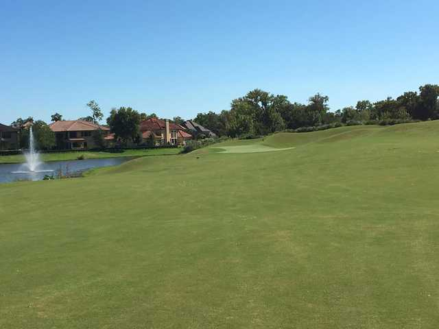 A view from a fairway at Sienna Plantation Golf Club.