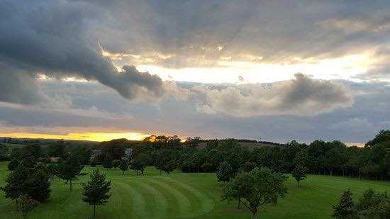 A view from Temple Golf & Country Club