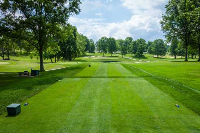 A view from tee #5 at Coldstream Country Club.