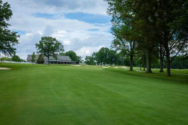 A view from fairway #18 at Coldstream Country Club.