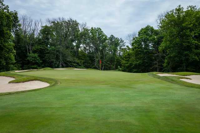 A view of the 15th green at Coldstream Country Club.