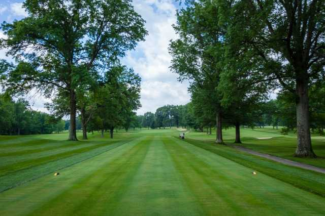 A view from tee #4 at Coldstream Country Club.