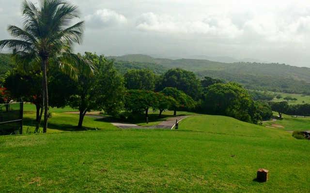A view from a tee at El Conquistador Resort & Waldorf Astoria Spa.