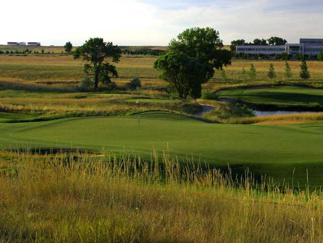 A view of green #6 from Walnut Creek Golf Preserve
