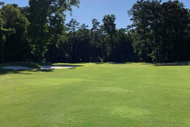 A view of hole #3 at Dogwood Trace Golf Course.