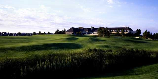 The clubhouse at Lone Tree GC & Hotel