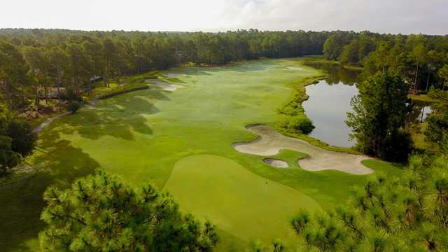 View from no. 2 on the Egret Nine at Carolina National