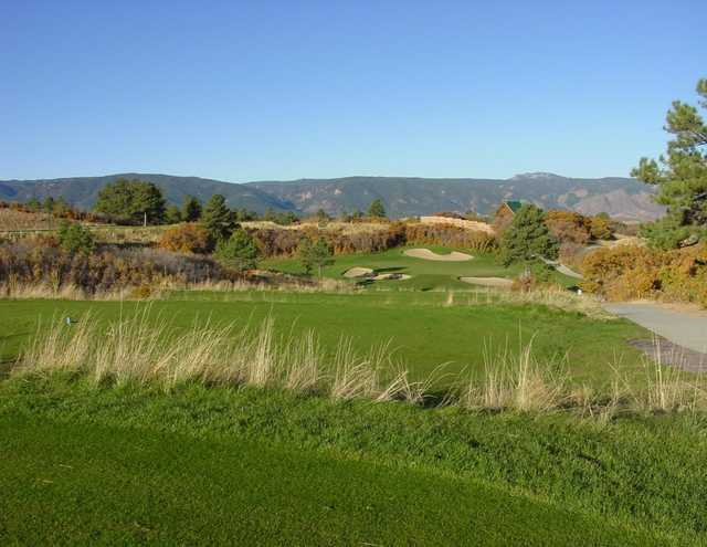 A view of the 12th green from The Golf Club at Bear Dance.