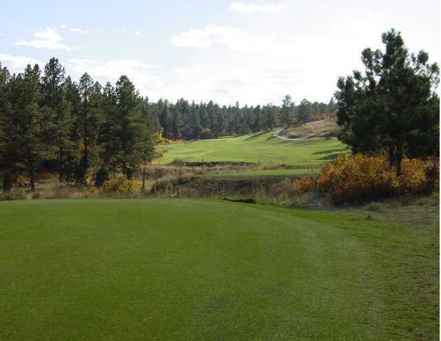 A view from tee #8 at The Golf Club from Bear Dance.