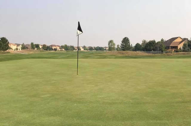 A view of hole #13 at Broadlands Golf Course.
