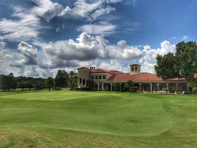 View of the clubhouse at The Country Club of Orlando