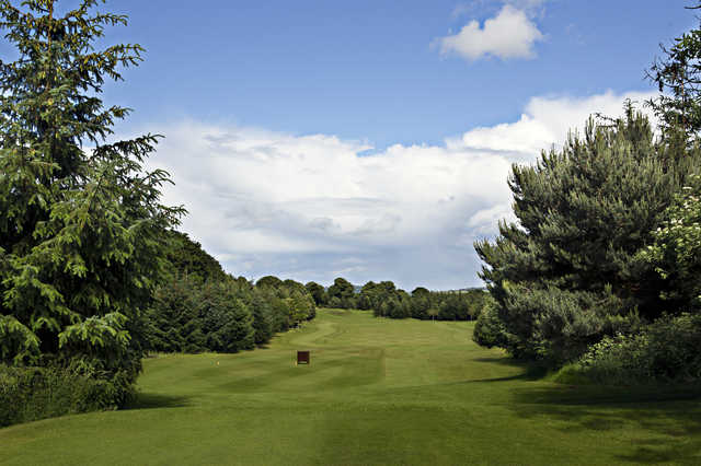 View from the 7th tee at Kings Acre Golf Course and Academy