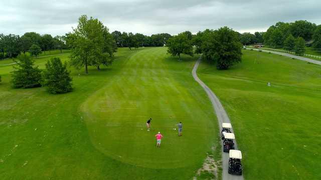 Golfers at Eldon Golf Club