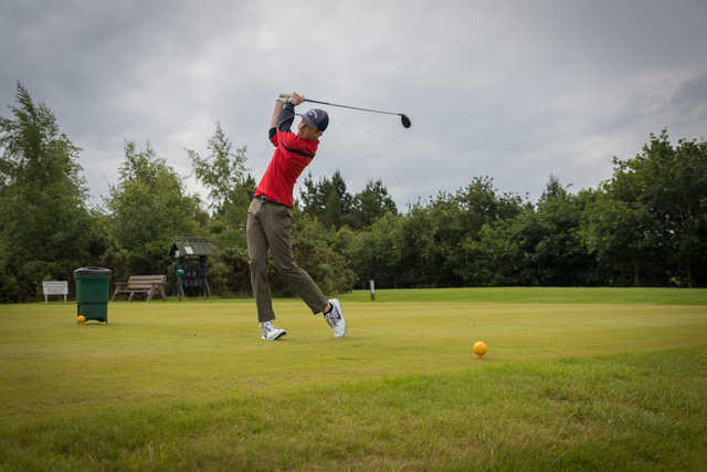 Teeing off at Ballyearl Golf and Leisure Centre