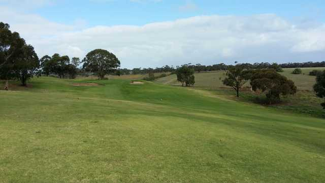 A view from Melbourne Airport Golf Club