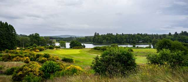 13th Green overlooking Aboyne Loch