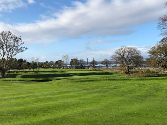 View of the 10th fairway at Largs Golf Club