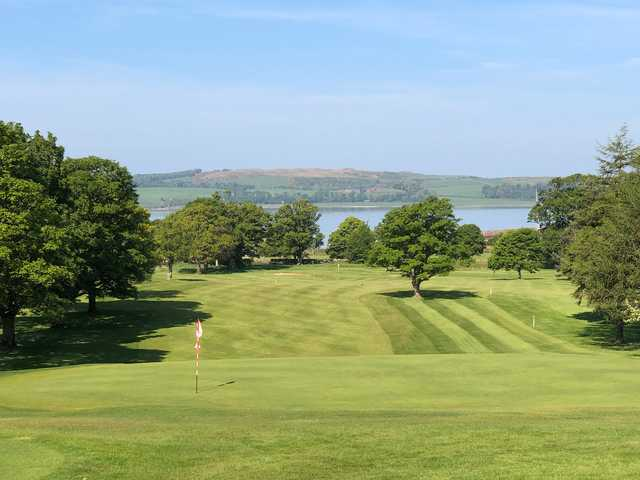 View from the 11th green at Largs Golf Club