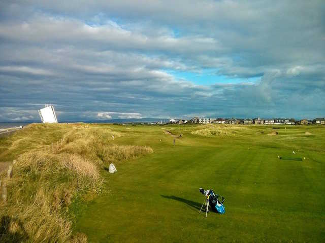A view from Fleetwood Golf Club