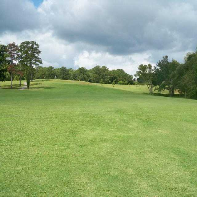 View from a fairway at Lakewinds Golf Course